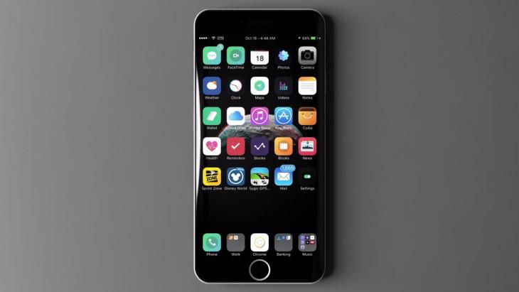 iPhone 7S : écran AMOLED, coque en verre et recharge sans fil en 2017 ?