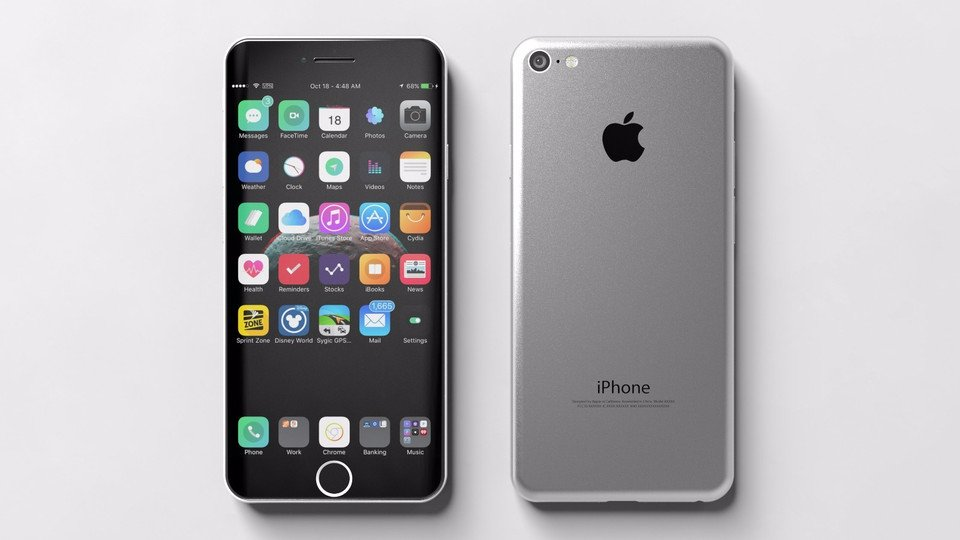 iPhone 7 Plus Concept incurve - iPhone 7 Plus : un sublime concept avec écran incurvé