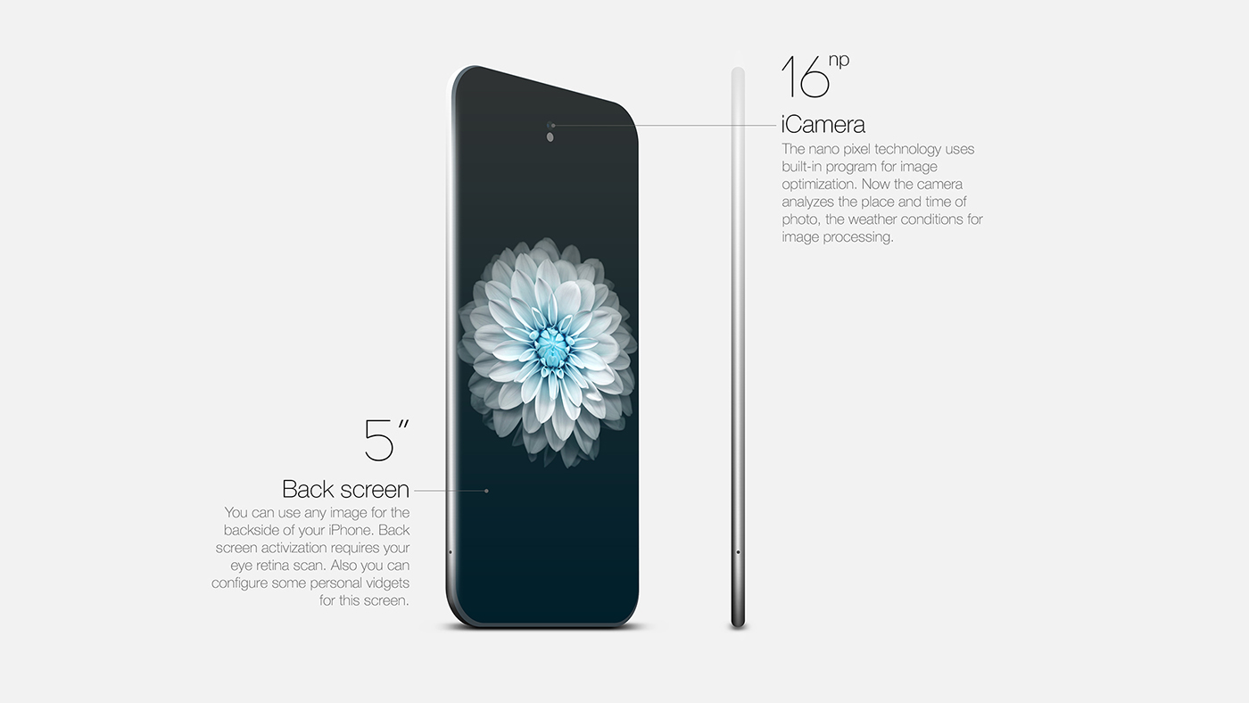 iPhone 7 concept Herman Haidin 004 - iPhone 7 : un concept futuriste en attendant sa sortie