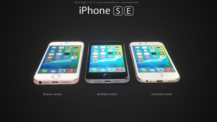 iPhone SE : 3 concepts basés sur les rumeurs du design