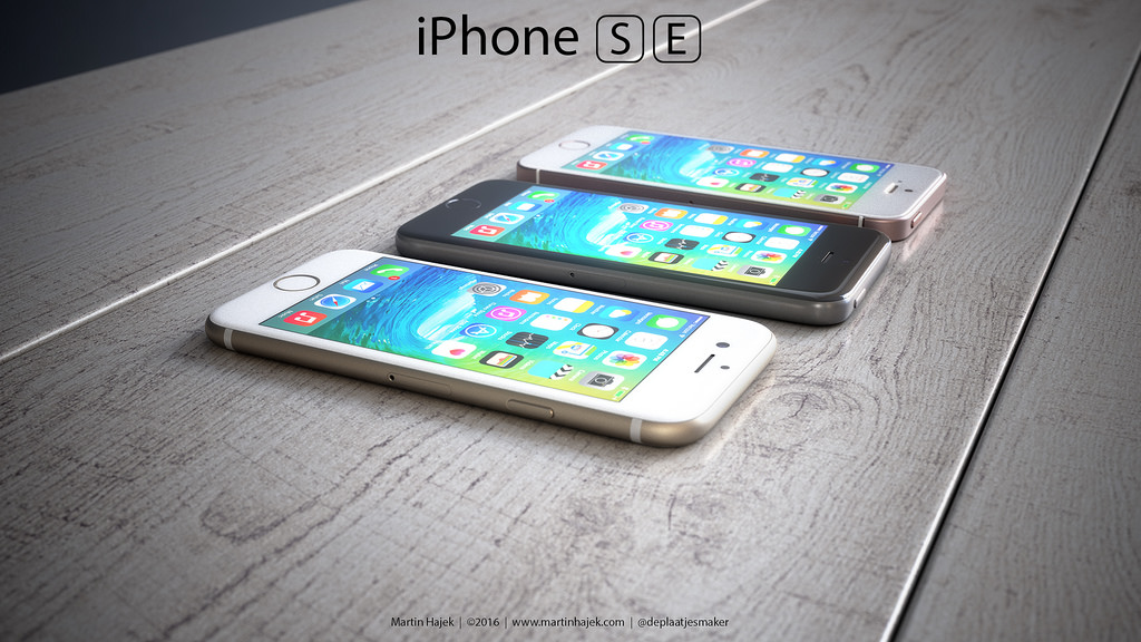 iPhone SE designs possibles par Martin Hajek 0010 - iPhone SE : 3 concepts basés sur les rumeurs du design