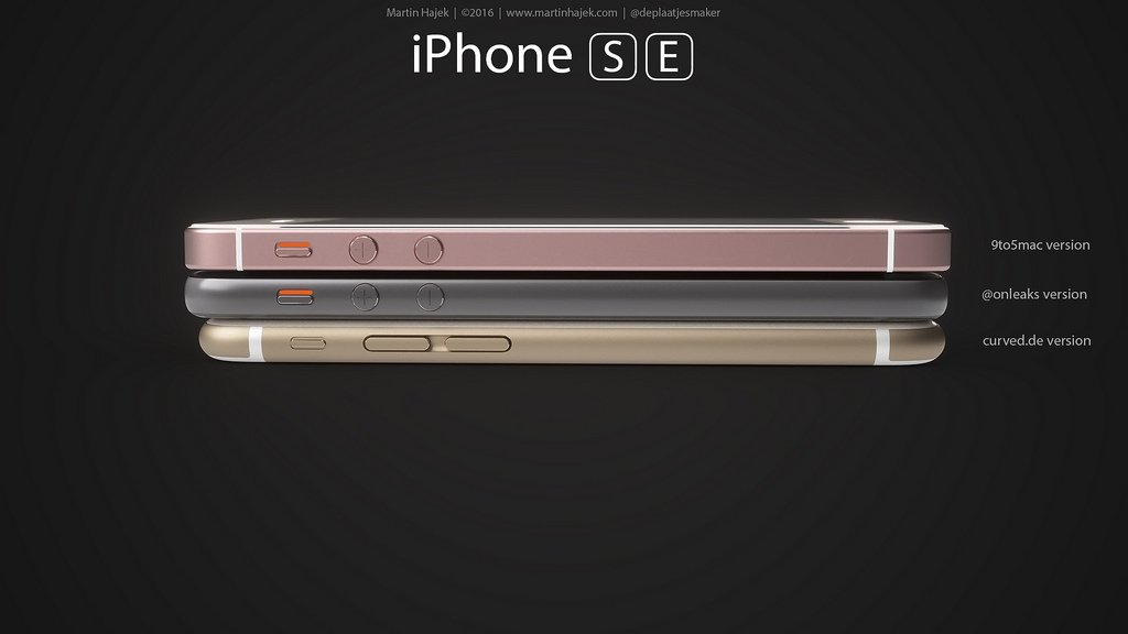iPhone SE designs possibles par Martin Hajek 0011 - iPhone SE : 3 concepts basés sur les rumeurs du design