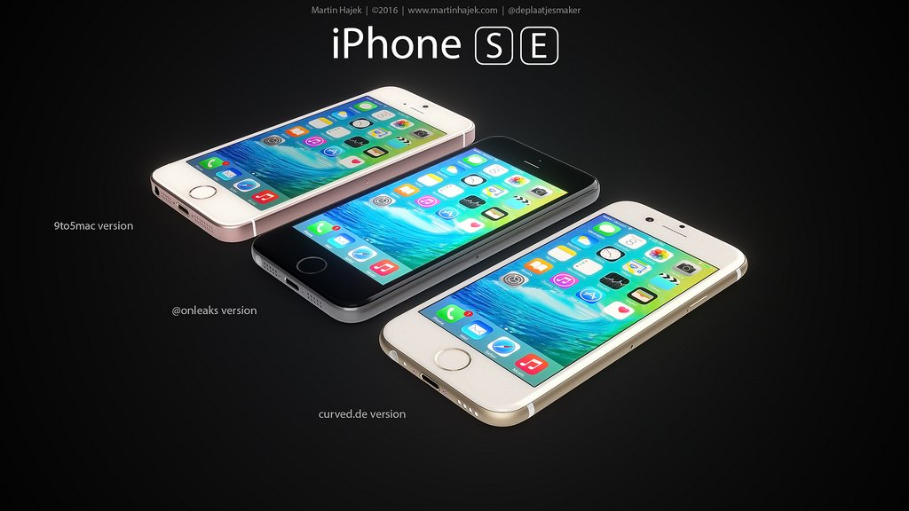 iPhone SE designs possibles par Martin Hajek 0012 - iPhone SE : 3 concepts basés sur les rumeurs du design