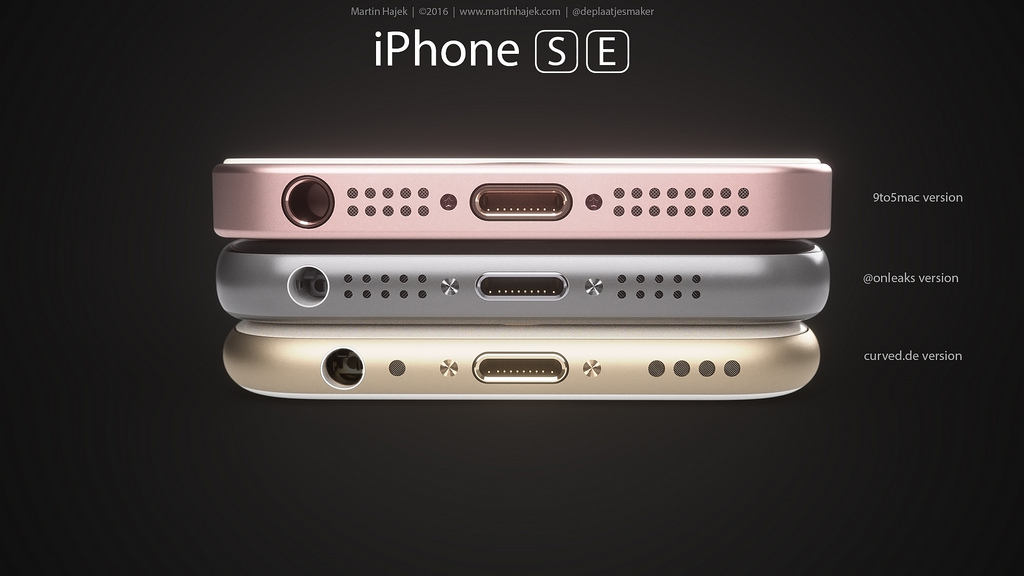 iPhone SE designs possibles par Martin Hajek 0014 - iPhone SE : 3 concepts basés sur les rumeurs du design