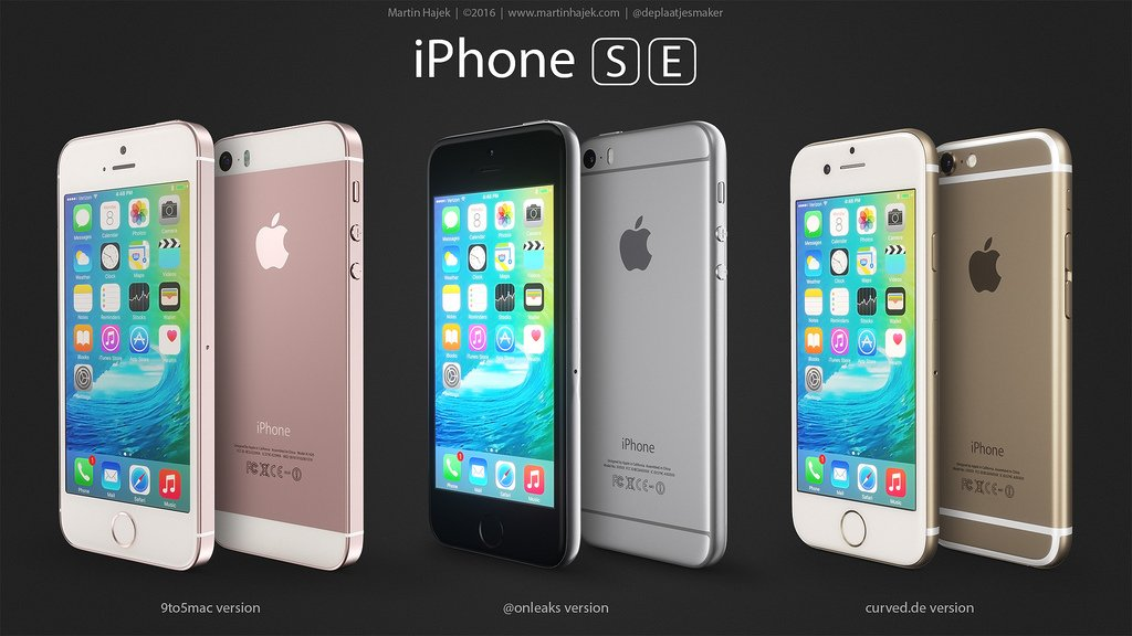 iPhone SE designs possibles par Martin Hajek 002 - iPhone SE : 3 concepts basés sur les rumeurs du design