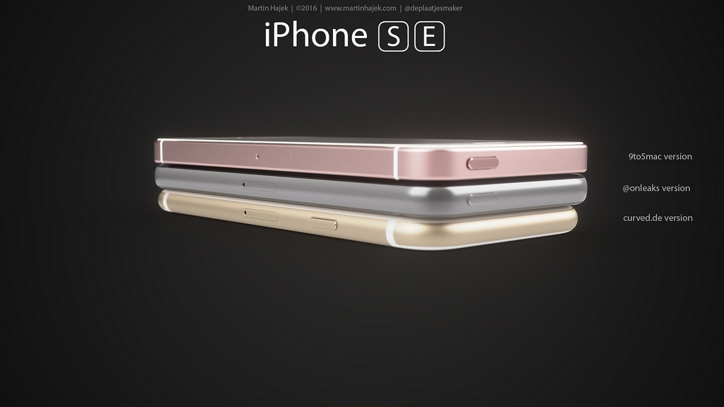 iPhone SE designs possibles par Martin Hajek 006 - iPhone SE : 3 concepts basés sur les rumeurs du design