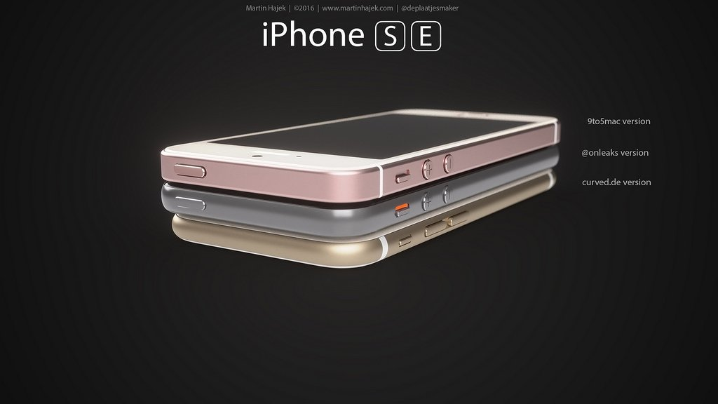 iPhone SE designs possibles par Martin Hajek 008 - iPhone SE : 3 concepts basés sur les rumeurs du design