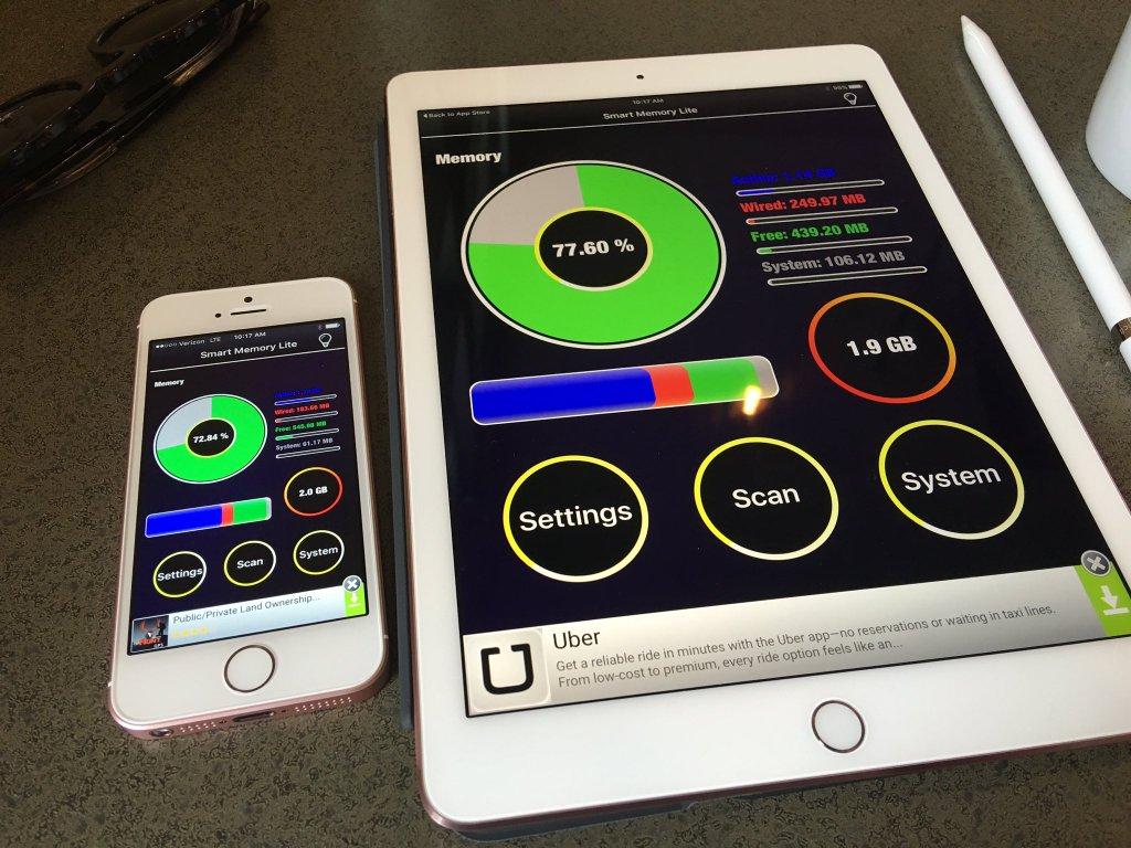 """iPhone Se iPad Pro 9 7 pouces 2go ram - L'iPad Pro de 9,7"""" plus lent que celui de 12,9"""", 2Go de RAM seulement"""