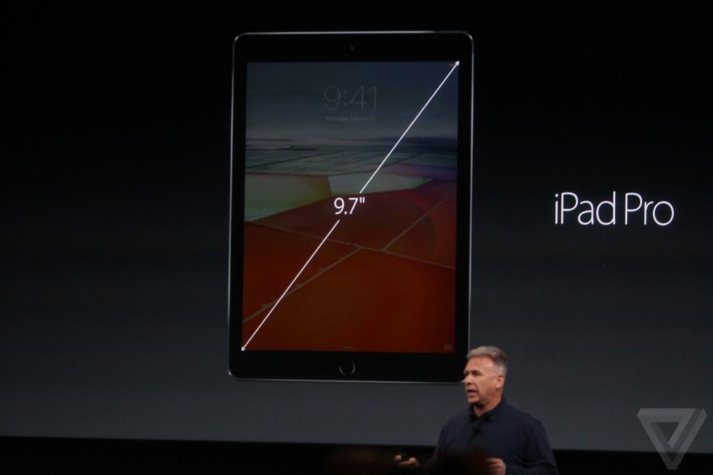 ipad pro 9 7 pouces keynote apple 1024x683 - Keynote : Apple dévoile un iPad Pro 9,7 pouces