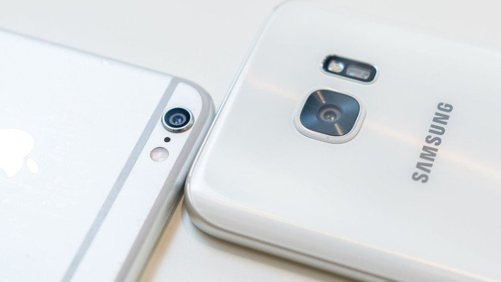 Galaxy S7 vs iPhone 6S : comparatif de l'appareil photo