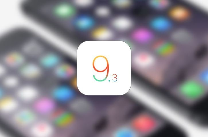 iOS 9.3.1 disponible sur iPhone, iPad, iPod Touch