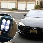 Contrôler une voiture Tesla avec l'Apple Watch, c'est possible !