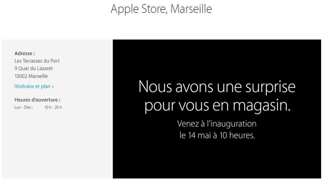Apple Store Marseille date ouverture 1024x572 - Marseille : ouverture de l'Apple Store le 14 mai à 10 heures