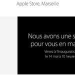 Marseille : ouverture de l'Apple Store le 14 mai à 10 heures