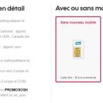 Code Promo Sosh : 10€ de réduction sur les forfaits à 19,99€ & 24,99€/mois