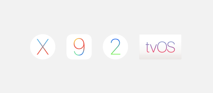 iOS 9.3.3, OS X 10.11.6 & tvOS 9.2.2 : bêtas 5 disponibles