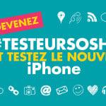 Sosh : testez l'iPhone SE avant de l'acheter !