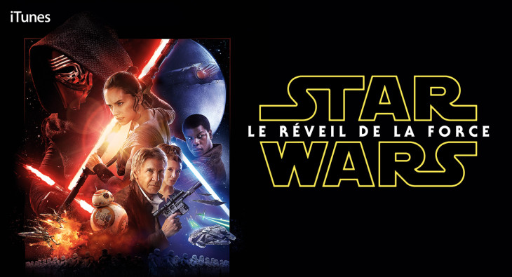 Star Wars : « Le Réveil de la Force » disponible sur iTunes