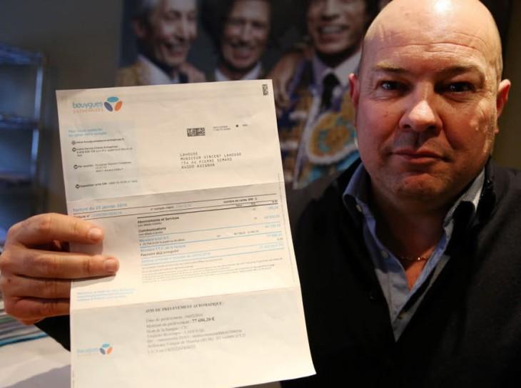 Bouygues Telecom : il reçoit une facture de 77 686 euros !
