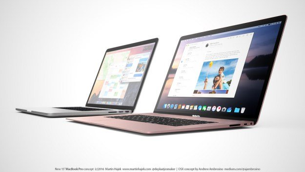 concept MacBook Pro ultra fin Martin Hajek 1 - Concept : un MacBook Pro Retina de 15 pouces ultra-fin