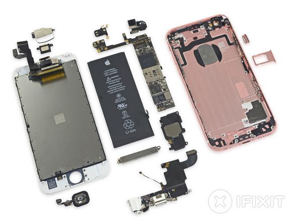 iFixit demontage iphone SE 2 - iFixit démonte l'iPhone SE : des composants identiques à l'iPhone 5S