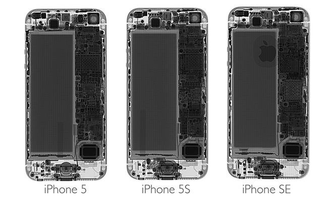 iFixit demontage iphone SE - iFixit démonte l'iPhone SE : des composants identiques à l'iPhone 5S