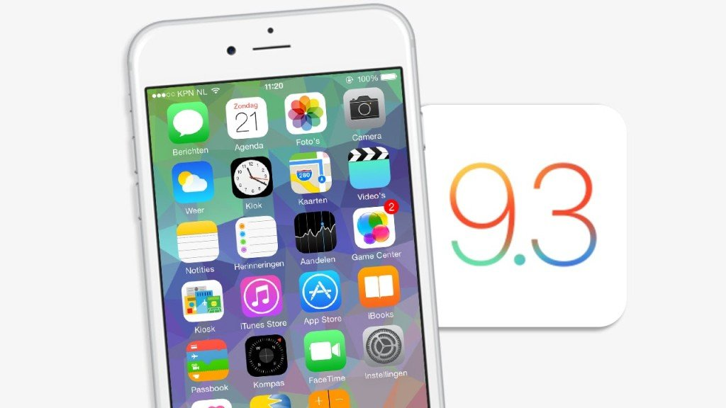 iOS 9.3 1024x576 - iOS 9.3.2 : la bêta 3 publique est disponible