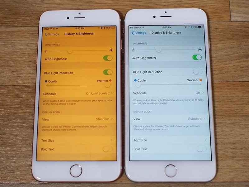iOS 9.3 mode Night Shift 1 - iOS 9.3 : programmer Night Shift en fonction du lever/coucher du soleil