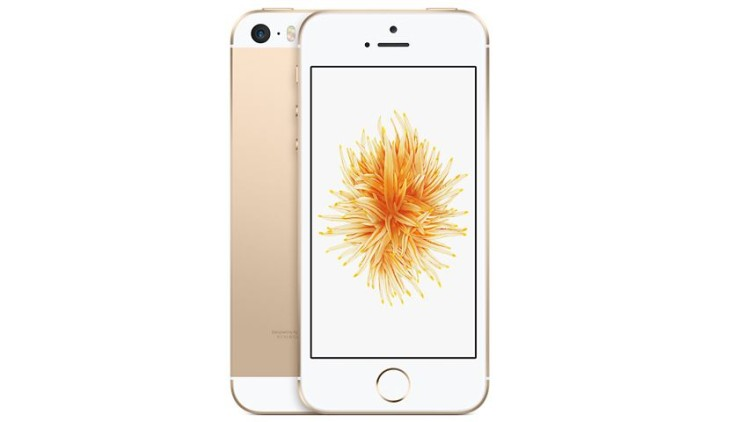 L'iPhone SE Or ferait un tabac en Chine