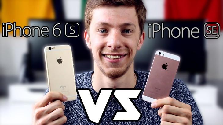Comparatif iPhone 6S vs iPhone SE : lequel acheter ?