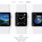 Apple permet désormais de personnaliser son Apple Watch en ligne
