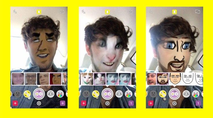 snapchat face swap pellicule - Snapchat : échange de visages depuis les photos & replays gratuits
