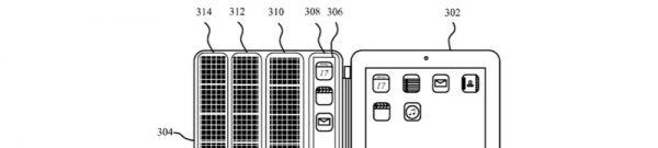 Brevet apple panneaux solaires iPad smart cover - Brevet Apple : vers des coques iPad avec écran intégré ?