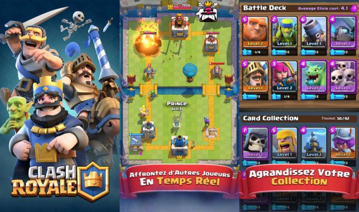Clash Royale : 6 nouvelles cartes et nouvelles récompenses