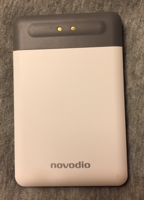 Novodio Charging Pad - Test : Kit Novodio Power Card Lightning (Batterie 2500 mAh) & Charging Pad