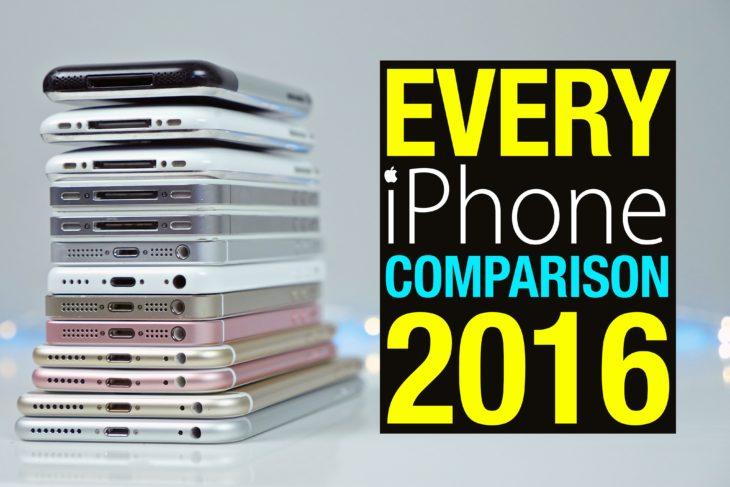 Vidéo : test de rapidité de tous les iPhone depuis 2007