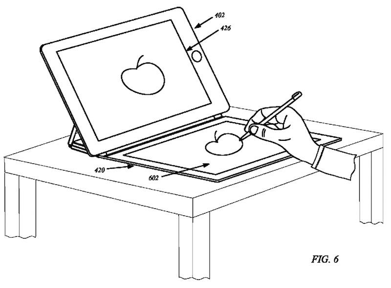 apple brevet coque ipad avec ecran integre 1 - Brevet Apple : vers des coques iPad avec écran intégré ?