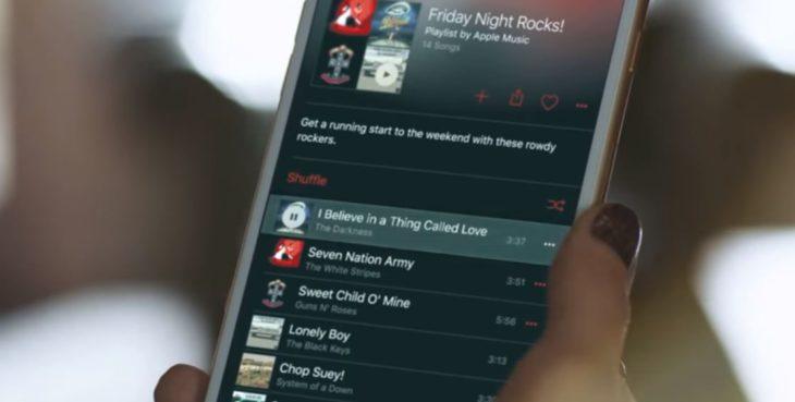 Apple Music : une troisième publicité avec Taylor Swift