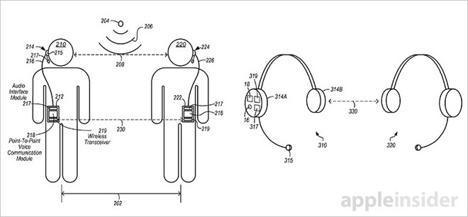 brevet-apple-talkie-walkie-iphone