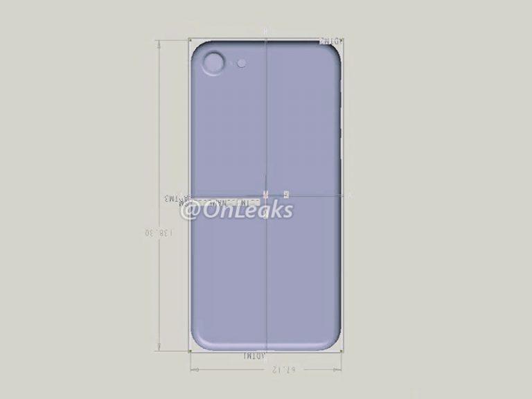 dimensions iphone 7 onleaks - iPhone 7 : un schéma dévoile ses dimensions