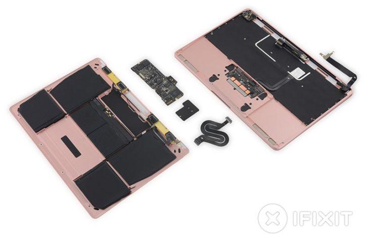 iFixit : réparer le MacBook 12 pouces de 2016 est un calvaire