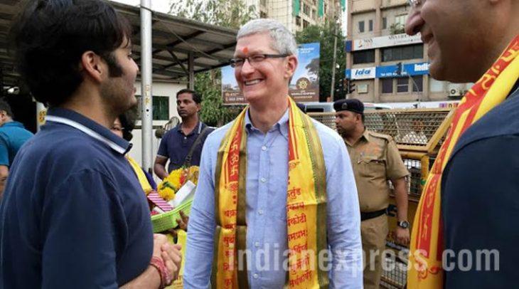 Apple : Tim Cook en visite en Inde pour discuter affaires