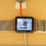 Windows 95 sur l'Apple Watch, c'est possible !