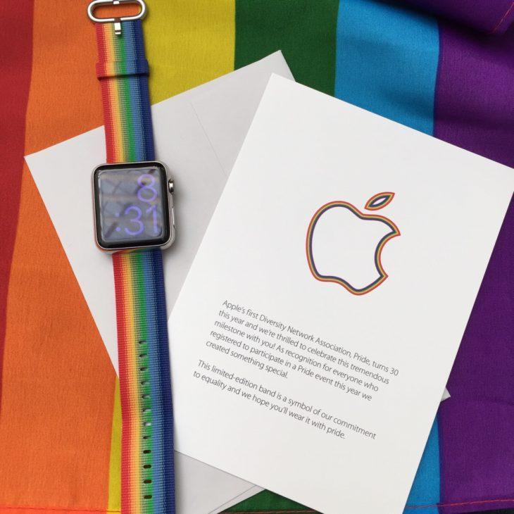 Gay Pride 2016 : Apple a offert des bracelets Apple Watch à ses employés