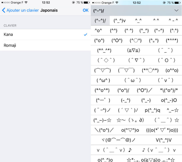 iPhone : comment afficher le clavier Emoji japonais secret d'iOS 9 ?