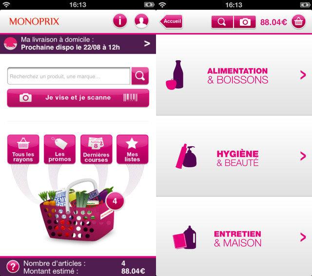 Monoprix-iPhone