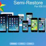 SemiRestore, restaurer iPhone & iPad sans perdre le jailbreak iOS 9.1