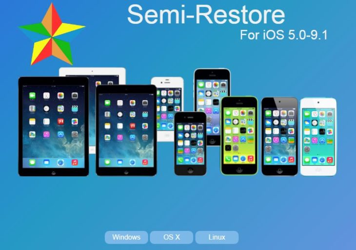 SemiRestore, restaurer iPhone & iPad sans perdre le jailbreak iOS 9.1