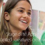 Apple Store : Apple lance ses stages d'été pour enfants