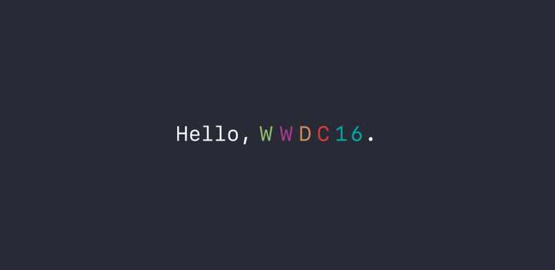 WWDC 2016 Apple - WWDC 2016 : Keynote Apple (iOS 10, OS X 10.12) à suivre en direct